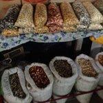 grãos de milho de todos os tipos e cores