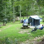 Relaxed camping at Iron Horse © Stephen Anderson
