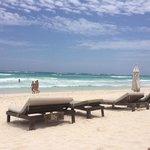 la mejor playa de Tulum en casa violeta!