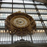 Clock at the Musee d'Orday