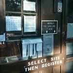 Registration Hut