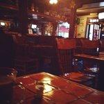 The pub area