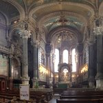 Panorama interior of the Basilica