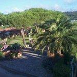 Hotel Pilade panoramica dal terrazzo