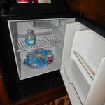 Mini refigerator in room