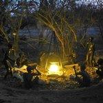 Leuke beeldengroep Bushmen