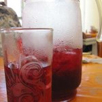 Hibiscus Water - Gotta try!
