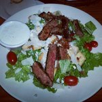 Black and blue cessers salad