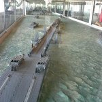 """onderdelen van de haven werden over """"het Kanaal"""" gesleept"""