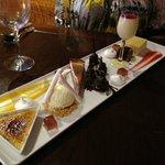 Assiette of desserts - fantastic!
