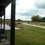 vue de la chambre sur le golf
