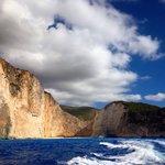 Уплываем из бухты Навайо