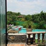 003 - Pool View from Spa Entrance - Casa Isabella - 19Jul14
