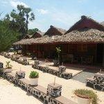 Charming beach bungalows