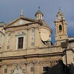Генуя: Ц. Христа и св. Амвросия и Андрея.