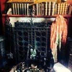 Temple Fireplace