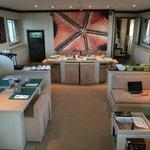 Pelagian Yacht Speisesaal