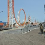 Roller Coaster in Coney Island