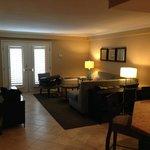 Living Room in King Suite