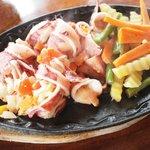 併設のレストラン渚