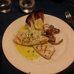 Comida en el restaurante L´Abate, cercano al hotel