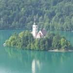 View of Bled Island