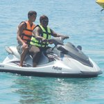 Jetskiing with an instructor