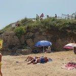 Береговая линия пляжа