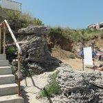 Лестница-кудесница из отеля на пляж