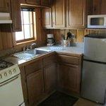 Aloha cabin kitchen