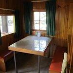 Aloha cabin dining nook