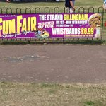 Usually the school summer holidays there will be a fair and load music. The fair sits on the fie