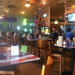 Bar dining area.