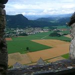 view from Hochosterwitz castle