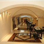 Hotelgang til reception
