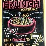 Crunch Donburi