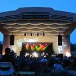 Summer concert at the zoo's bandshell