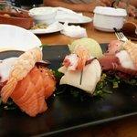 Simply stunning sashimi platter!!