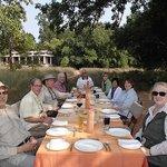 The picnic under the shady mahua trees