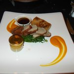 Beautiful lamb dish (cooked well done to my liking)