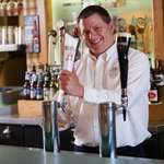 Curly's Pub offers a variety of tapped and bottled beers and  liquors