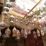 Lanterns in Cairo's oldest street