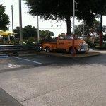 Cody's parking lot
