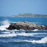 Waves crashing nearby....