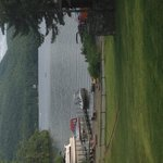 Just docked at Alpine Village after a great day in the lake with the family. Now sitting on the