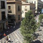 calle Arenal desde nuestra habitación