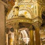 Details of altar area