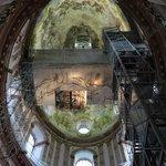 Vista da cúpula e dos elevador de acesso!!