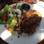 Piri Piri Chicken and Fresh Garden Salad