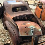 Nothing beats an old rusty car...